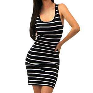 Bandage Bodycon Short Mini Dress - Jeybeauty