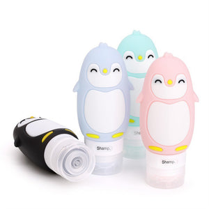 Travel  Penguin Refillable Bottle - Jeybeauty