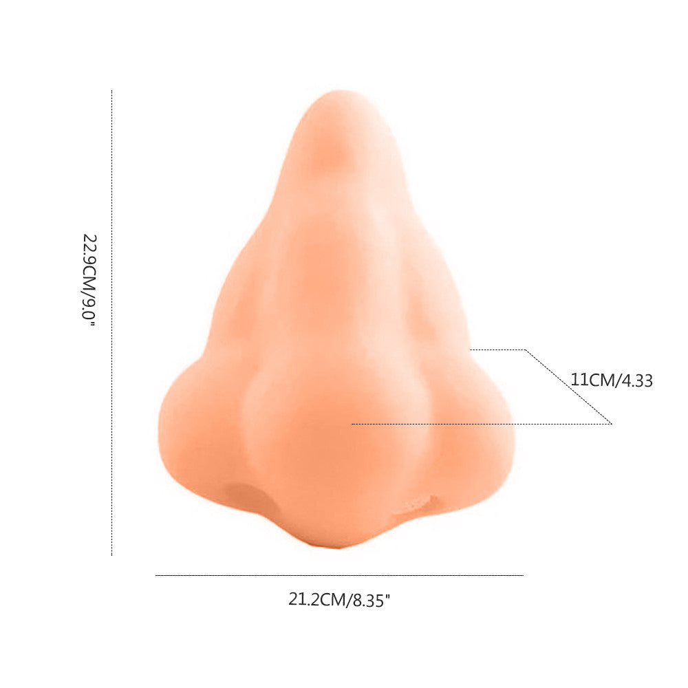 Funny Nose Shape Soap Dispenser with Suction Hooks For Bathroom - Jeybeauty