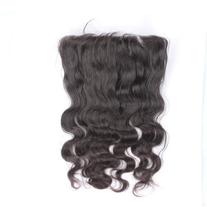 Body Wave Lace Frontal Virgin Hair Plucked Lace Closures - Jeybeauty