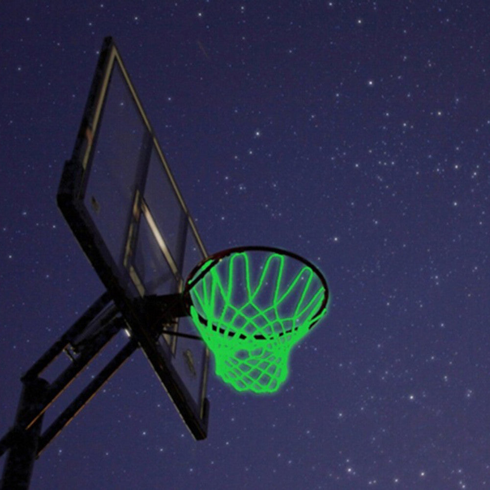 1Pc Braided Nylon Glowing Light Luminous Basketball Net Training Sports Supplies - Jeybeauty