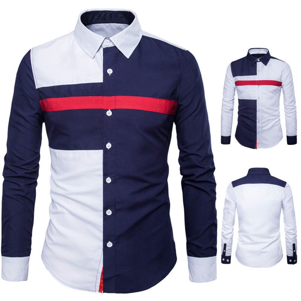 Oxford  Suits Slim Fit Tee Topj - Jeybeauty