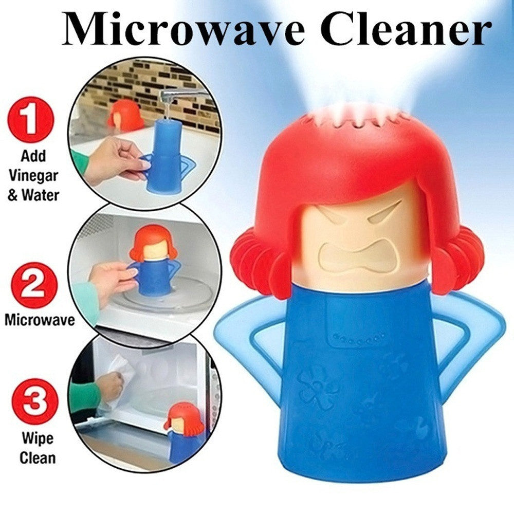 Metro Angry Mama Microwave Cleaner Steam Cleaners Kitchen Gadget Tools - Jeybeauty