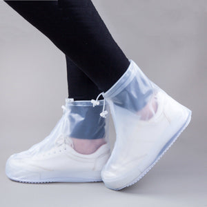 Waterproof Shoe Covers Adjustable Zippered Over Shoes Slip - Jeybeauty