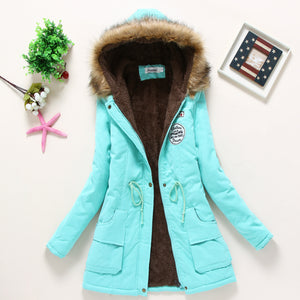 New Parkas Thickening Winter Jacket - Jeybeauty