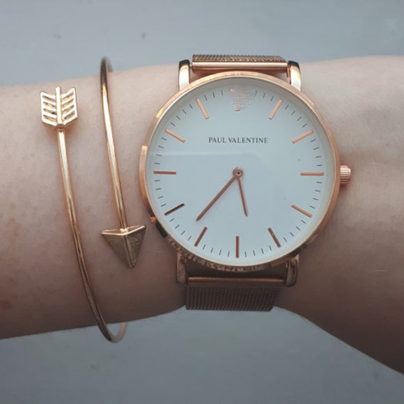 Open Adjustable Arrow Bracelet Bangles - Jeybeauty