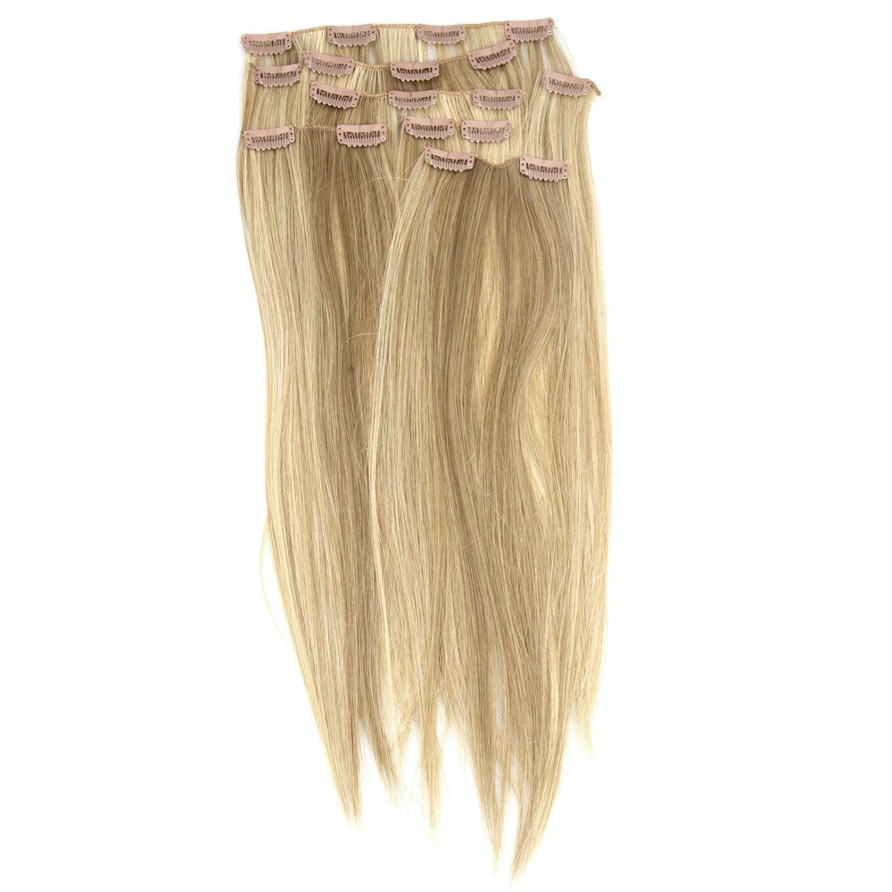 "Fashionable 18"" Clip-On Hair Extension Wig - Jeybeauty"
