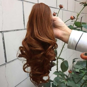 Short Wavy Curly Claw Ponytail Clip in/on Hairpiece - Jeybeauty