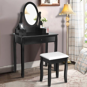 Vanity Wooden Makeup Dressing Table - Jeybeauty