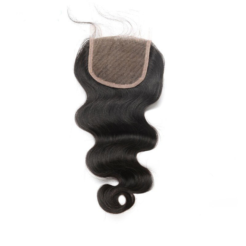 Pre Plucked 5X5 Body Wave Lace Closure Brazilian Virgin Hair With Baby Hair - Jeybeauty