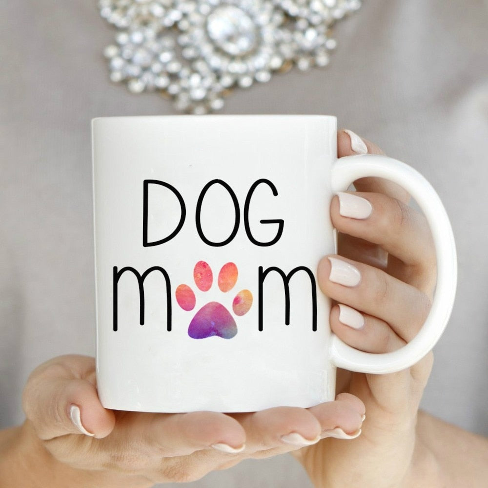 Dog Mom Mugs Ceramic - Jeybeauty