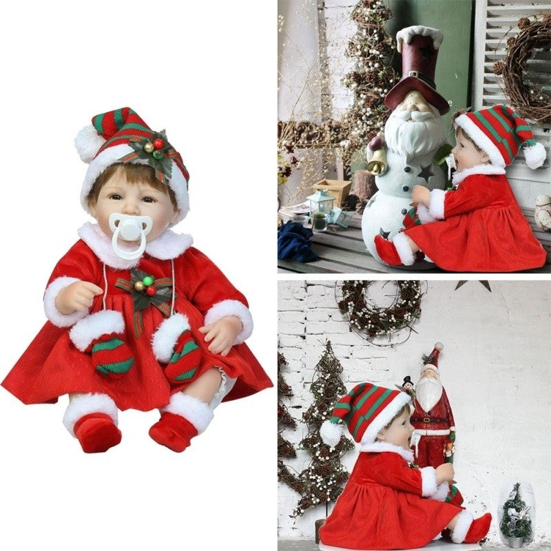 Christmas Greeting with Gloves Doll Christmas Gift Doll High end Pop Gifts - Jeybeauty