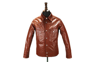 Classic Men's genuine leather Cowskin jacket