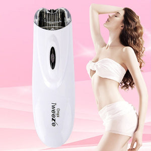 Women Hair Removal Epilator Electric Pull Tweeze - Jeybeauty