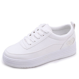 Women Autumn Shoes Chaussure Femme Off White Shoes Woman Sneakers Platform - Jeybeauty