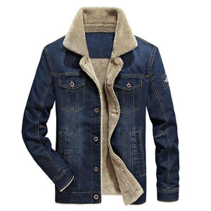 High Quality Mens Washing Wear Resistance Denim Jacket - Jeybeauty