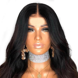 Brown Body Wave Lace Front Wig - Jeybeauty