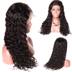 Lace Front Wig Lace Curly Hair Wigs Black Hair Wigs Long Hair Curling - Jeybeauty