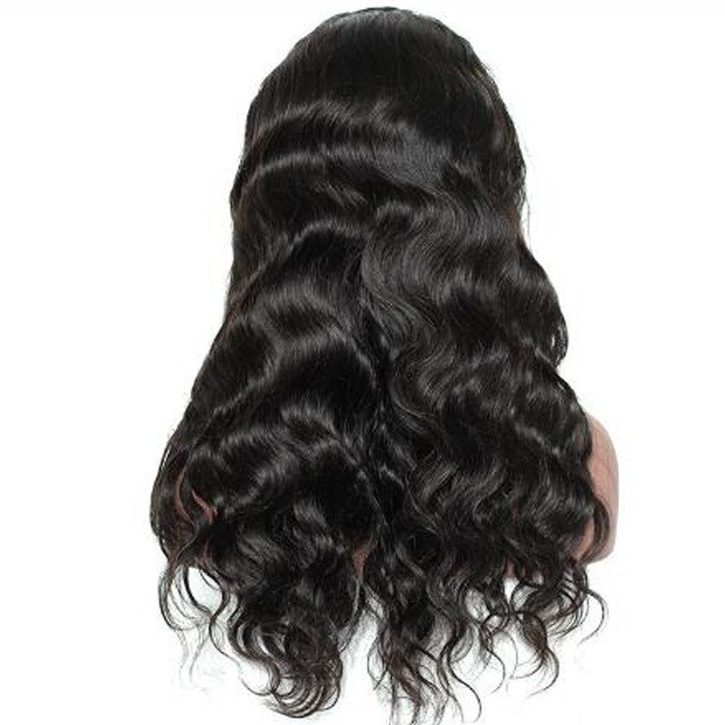 Beautiful women Hair  curly hair Former lace wig Full Wig  Wave - Jeybeauty