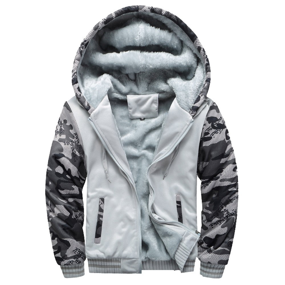 Warm Fleece Zipper Sweater Jacket - Jeybeauty