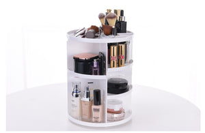 360 Degree Makeup Multi-Function Cosmetic Storage Box - Jeybeauty