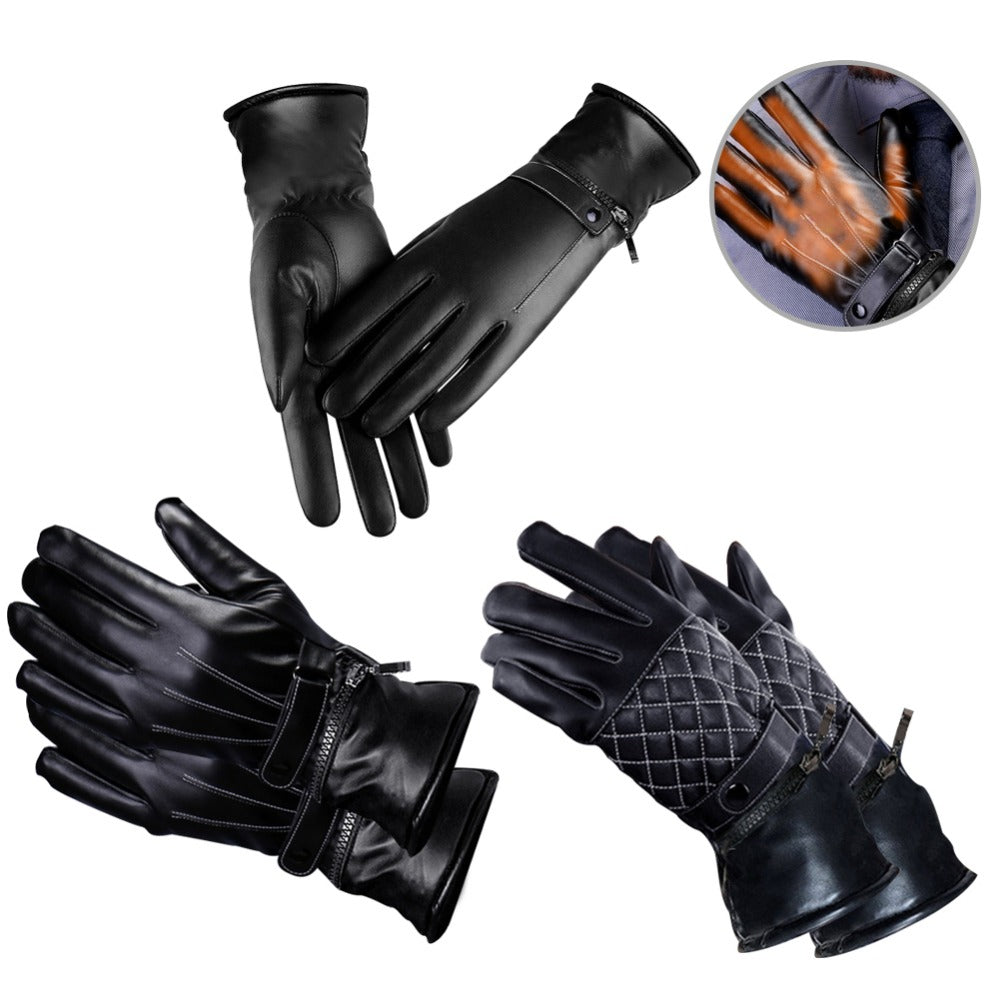2018 Outdoor Rechargeable Heating Gloves Winter Warm Heating Electric Heating Electric Riding Gloves US Plug - Jeybeauty
