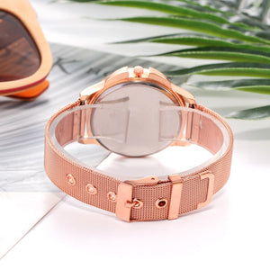 Rose Gold Wrist Watch - Jeybeauty