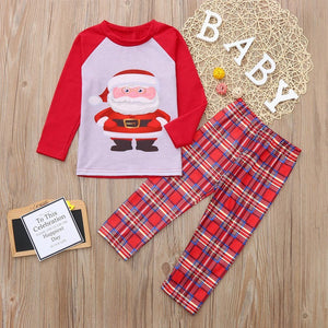 Kids Boy Girl Santa outfit Pajamas - Jeybeauty
