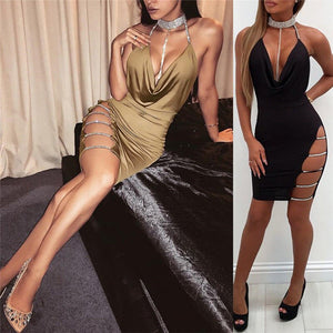 Sequin Sexy Bodycon Dress Summer - Jeybeauty