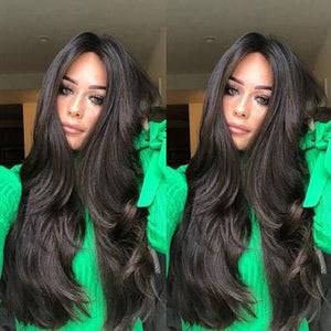 Natural Wavy Full Wigs 25 Inches - Jeybeauty