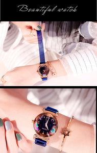 HOT Starry Sky Magnet Buckle WristWatch - Jeybeauty