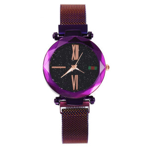 Luxury Water resistant  Starry Magnetic  Sky Watch - Jeybeauty