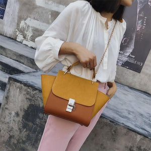 2019 New Hot Matte PU Leather Designer Handbag  Messenger - Jeybeauty