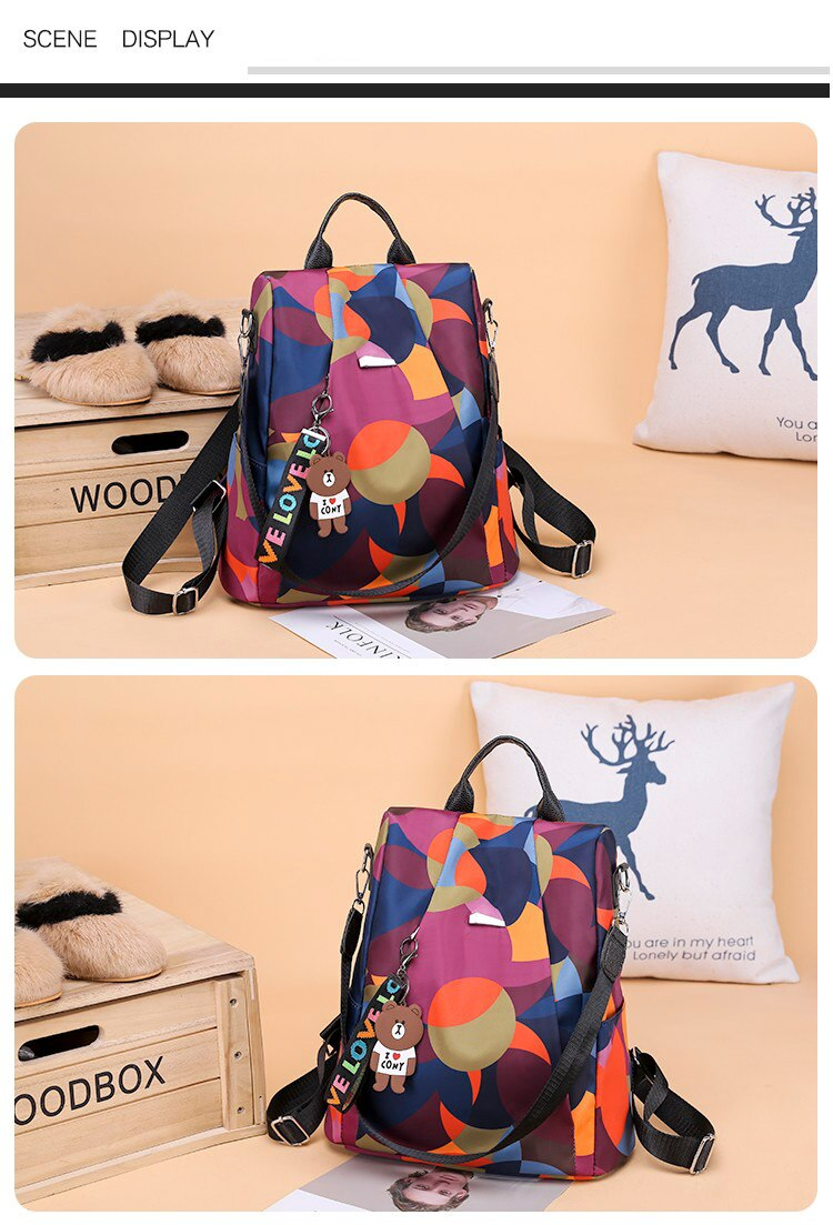Multi-Color Shoulder Bear Bag - Jeybeauty