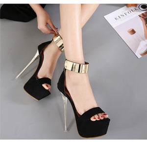 sexy black high heels party pumps shoes - Jeybeauty