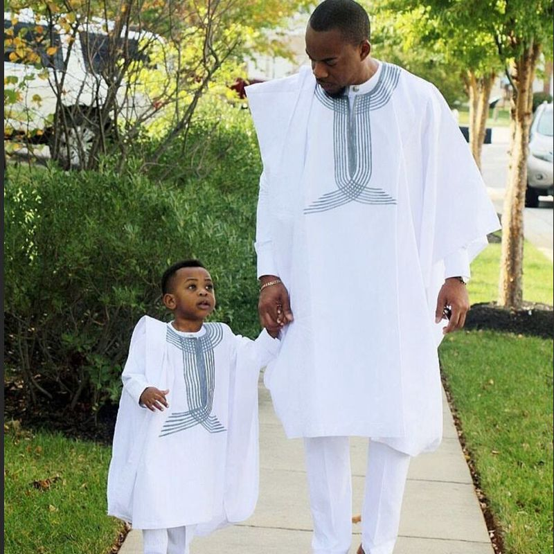 Classic father son africa outfit 3 pieces set - Jeybeauty