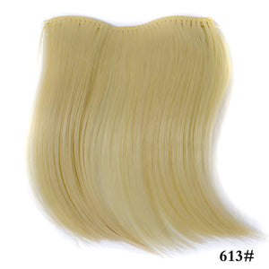 Pure Color Natural Invisible Hair Bangs - Jeybeauty