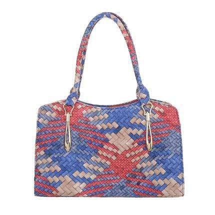 Ladies shoulder bag blue - Jeybeauty