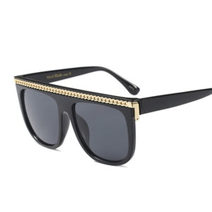 Classic Unisex Chain Optional Steampunk Shades - Jeybeauty