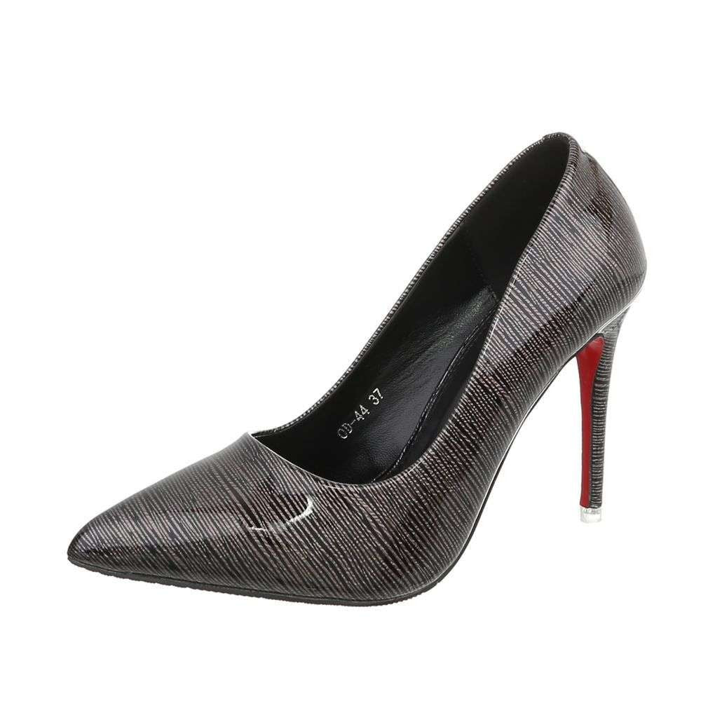 Ladies High Heels Pumps black - Jeybeauty