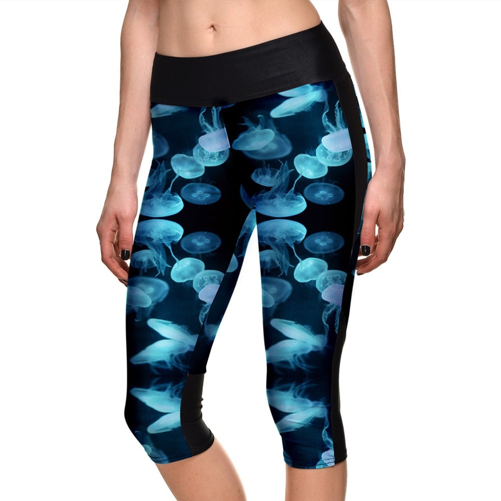 Workout Breathable Capril Pants - Jeybeauty