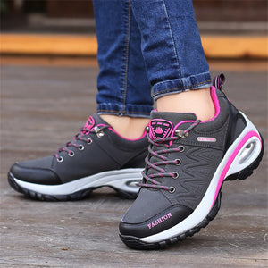 high quality leather suede air damping shoes - Jeybeauty