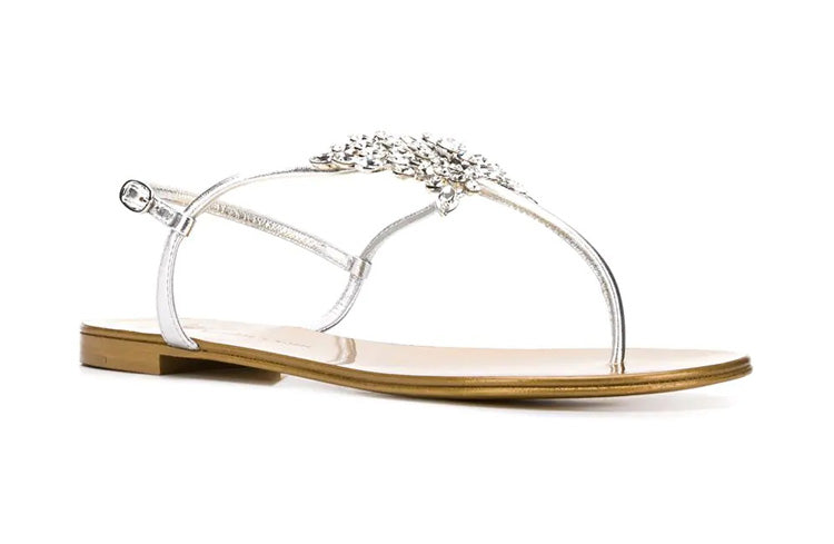High Quality Transparent Crystal  Flip Flop - Jeybeauty