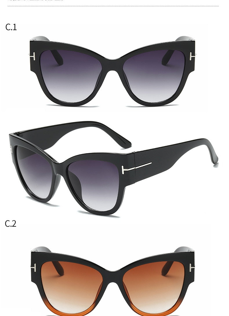 Gradient Classic Sun Glasses - Jeybeauty
