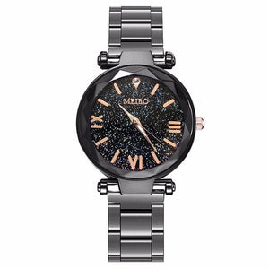Stainless Steel Starry Sky Watch - Jeybeauty