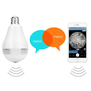 Wireless IP Camera Wifi Bulb CCTV - Jeybeauty