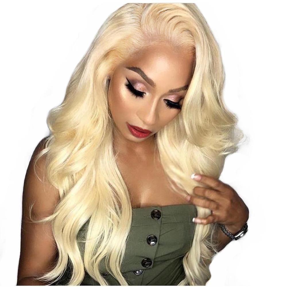 High Quality Premium  Blonde Lace Front Wig - Jeybeauty