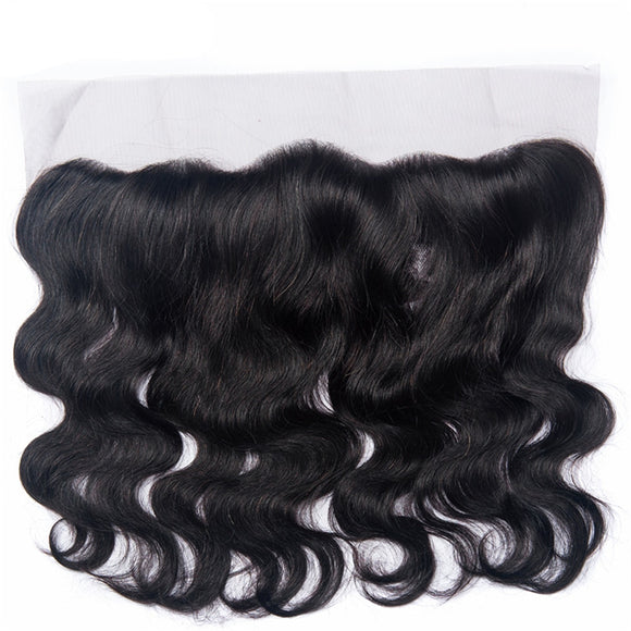 Brazilian Body Wave 13*4 Lace Frontal Closure Non Remy 100% Human Hair Ear To Ear Closure Natural Color Lace Frontal - Jeybeauty