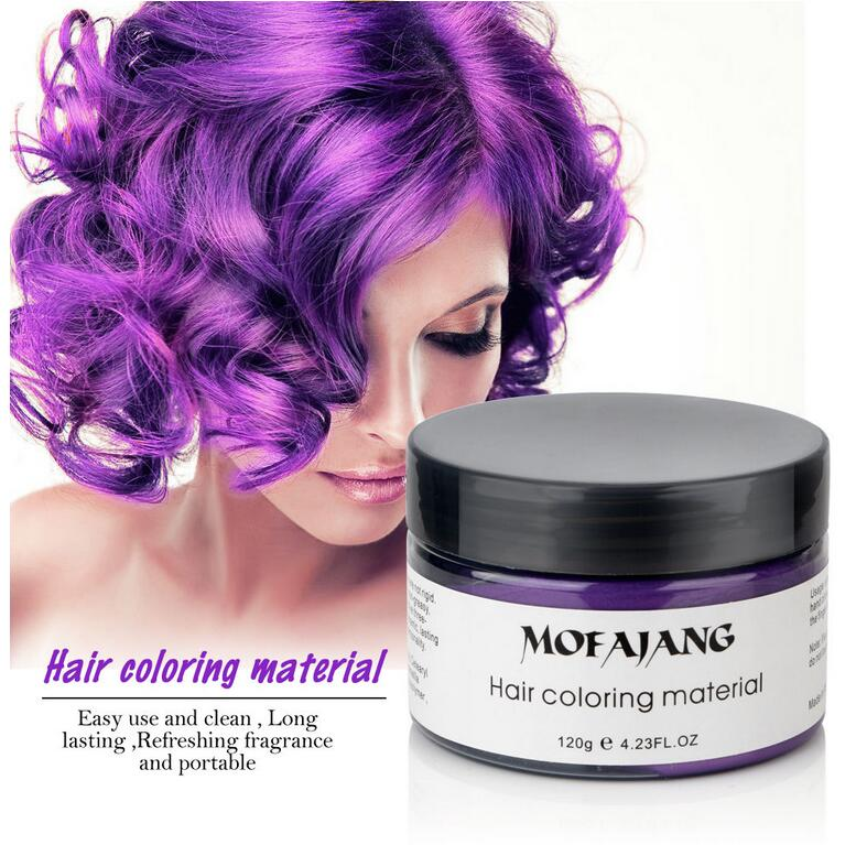 Easy Wash Hair Color Styling Promades Wax - Jeybeauty