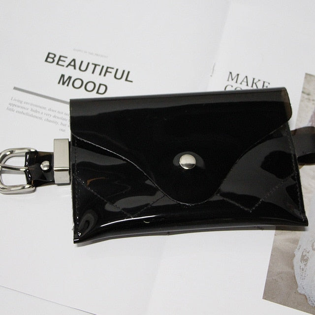 Clear PVC Waist Bag - Jeybeauty